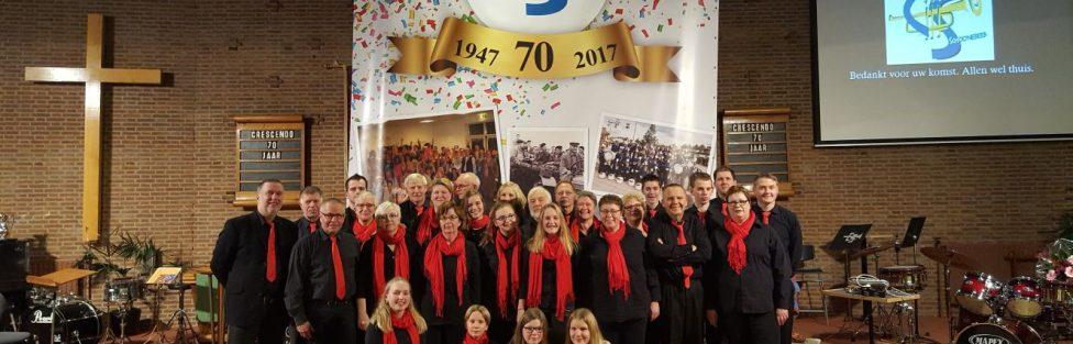 Jubileum concert, Crescendo 70 jaar!